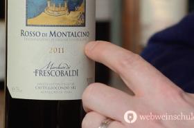 Weinetiketten Italien