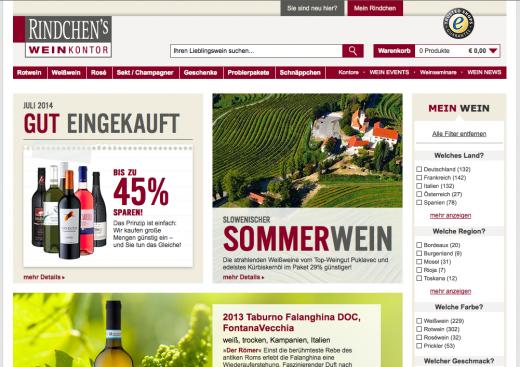Rindchens Weinkontor Gutschein Rindchen