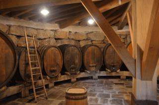 Wein Holzfass
