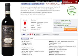 Der Weinversand Gutschein