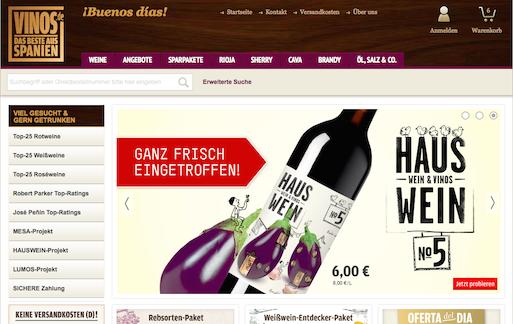 vinos.de Rabatt