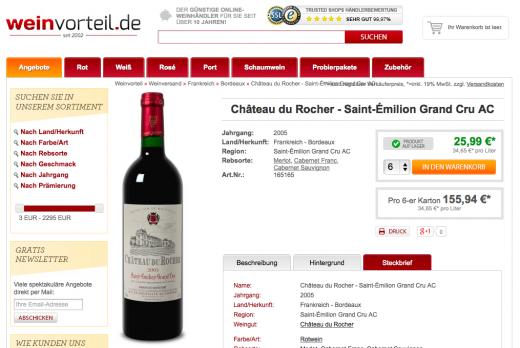 Weinvorteil Gutschein Wochenende