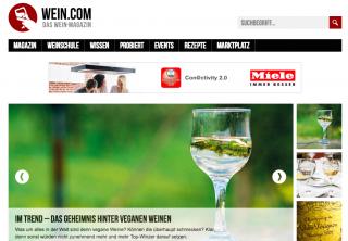 Wein im Internet