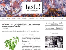 Taste Magazin
