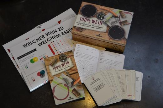 Weinwissen Spiel Box