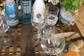 Sommerdrinks mit Sekt