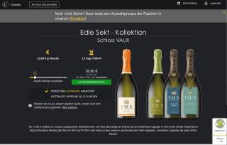 Colusto Wein-Upgrades