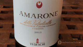 Amarone Etikett