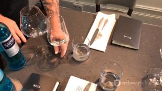 Gläser eindecken Weinservice